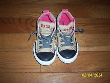 Junior youth's  Converse  Multi- Color No Time To Tie Mid Top  Sneakers  size 13