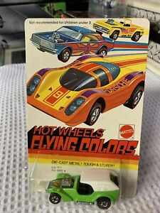 Hot Wheels Redline FLYING COLORS ICE 'T in Lt Green, #6980 UNPUNCHED MIBP