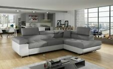 BRAND NEW MALAGA CORNER SOFA BED WITH STORAGE QUICK DELIVERY