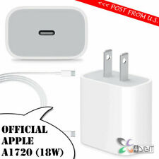 Original Genuine Apple A1720 18W iPad Pro 11 AC WALL CHARGER Type-C USB-C Cable