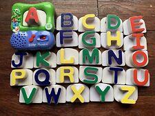 """Fridge Phonics"" 26 letter magnetic alphabet Leap Frog Used Works Great"