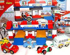 LEGO DUPLO ~ DISNEY CARS Grande Box STOP 5829 BULLY Francesco Guido