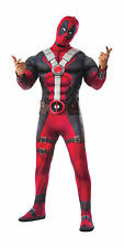 Deluxe Muscle Deadpool Adult Mens Costume NEW