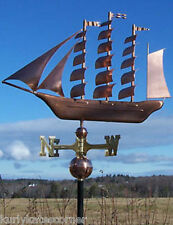 "COPPER ""TALL SHIP "" WEATHERVANE MADE IN USA #150"