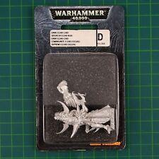 Dark Eldar Lord (45-39) drukhari Warhammer 40k metal blister OOP 11125