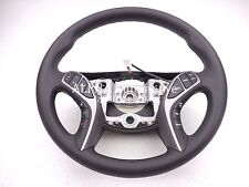 New OEM 2014-15 Hyundai Elantra Black Steering Wheel W/ Audio & Cruise Control!