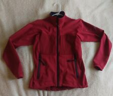 Women's ArcTeryx Soft Shell Alpine Jacket Coat Windbreaker Red Small