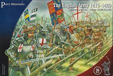 Perry Miniatures 28mm Plastic English Army 1415-1429 (36 figures) New!
