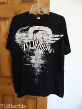 Tapout mens mans short sleeve crewneck Tapout Fight Co. graphic tee shirt size L
