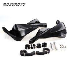"7/8"" & 1-1/8"" Handlebar Motorcycle Brush Guard Handguards For Honda Kawasaki BID"