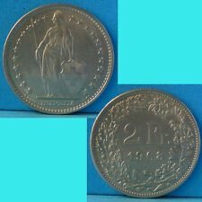 Switzerland 2 Francs 1968 km 21a.1