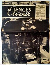 SCIENCES ET AVENIR n°11 du 12/1947; LA folie est-elle curable/ Vie des huitres