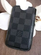 LOUIS VUITTON ★ LV iPhone 4 4S Handy Etui Case Hülle Damier Graphite NP165€ OVP
