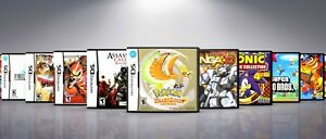 Custom Nintendo DS Covers and EU Style Cases: Titles M-Z .  !! NO GAMES !!