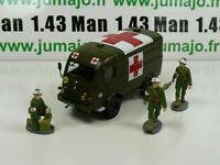 Lot VMF1B + soldat DIREKT IXO 1/43 Renault 1000 Kg R2087 croix rouge + 3 soldats