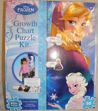Disney Frozen *Growth Chart Puzzle Kit* Elsa and Anna New in Box