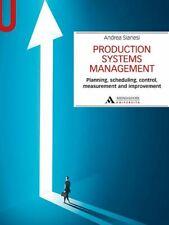 PRODUCTION SYSTEMS MANAGEMENT  - SIANESI ANDREA - MONDADORI UNIVERSITA'