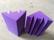 2PCS Purple Bass Trap High Quality Material Acoustic Foam for Recording Room