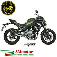 Scarico Completo Mivv Kawasaki Z 650 2018 18 Terminale MK3 Inox Black Per Moto