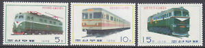 Korea (N) - 1976 - MNH - (1489-1491) Trains