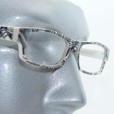 Reading Glasses Sharp Ink Style Tattoo Graffiti Frame +1.75 White Black