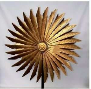 180cm Windmill Goldern Sword Wind mill Wind Spinner Garden Decor Sculpture