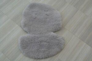 Mamas and Papas Universal GREY Sheepskin Fleece Wool Pram Pushchair Liner