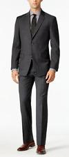 Tommy Hilfiger 7626 Modern-Fit Windowpane Stretch Suit Sz 42L Pants Sz 42-36