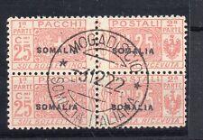 FRANCOBOLLI 1922 SOMALIA PACCHI POSTALI C. 25 IN COPPIA D/9675