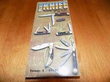 POCKET KNIFE TRADERS PRICE GUIDE Vol. 4 1999 CASE BULLDOG Knives Rare Book
