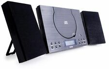 Denver Mc-5010 Black Mini System Stereo CD Player