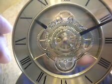 Vintage  Skeleton Movement  desk Clock