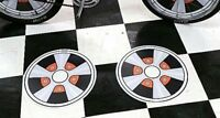 fUn WhEeL Bicycle Mag Wheel Inserts fit Schwinn Stingray Banana Seat Muscle Bike