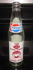 1983 Pepsi Ncaa National Champions 1Aa Southern Illinois Saluki bottle Football