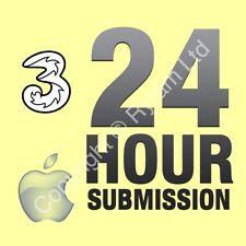 Unlock Service iPhone 6S 6 5S 5C 5 SE Unlocking Code THREE HUTCHISON ID MOBILE 3