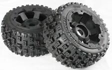 1/5th Baja Wheels & Tyres Set off Road Rear Bow Tie Fit HPI 5b SS PRC Km Rovan