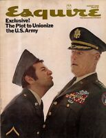 1968 Esquire August - MIB Marbles; Politics of Pot; Mickey Mantle; Johnny Carson