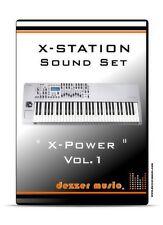 "Novation X-Station Synthesizer ""X-Power"" Vol.1 - 100 Sound Presets / Patches"