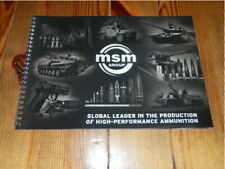MSM Group Range Army Military Defence brochure prospekt catalogue