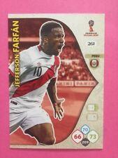 ADRENALYN XL CARD WC RUSSIA 2018 - N.261 FARFAN PERU'