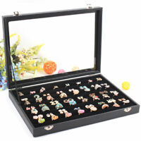 100 Ring Jewellery/Necklace Gift Display Storage Box Holder for Tie Clip Earring