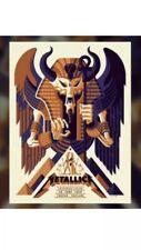 Metallica London Exclusive 2019 Limited Edition VIP Tour Poster Twickenham