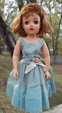 "Vintage Ideal Doll VT-18   18"" Miss Revlon Doll in Snow Pink Dress"