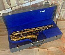 1938 Vintage King Zephyr Tenor Saxophone - For Parts or Repair
