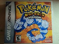 Sostituzione GAMEBOY ADVANCE pokemon Naranja VERSIONE BOX-custodia vuota GBA