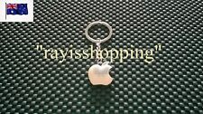 Apple iphone ipad Keyring Key Ring Pendant Solid Stainless Steel Cool Hipster