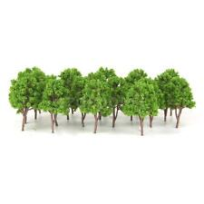 20x Model Trees N Scale Train Scenery Architectural Model Supplies Green