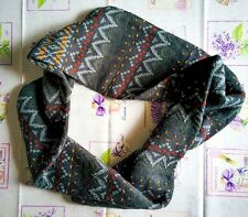 Reserved Muffler one size circle street fashion scarf green warm sciarpa tonda