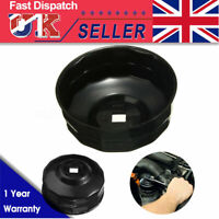 76mm x 14 Flutes Oil Filter Cup Socket Cap Wrench Remover Tool For BMW Audi VW /
