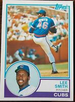 Topps 1983 Lee Smith Chicago Cubs Baseball Card #699
